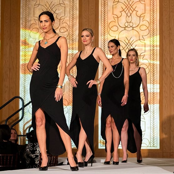 Glitz and Glamour Fashion Show benefits A Silver Lining Foundation